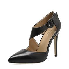 Vrouwen Kunstleer Stiletto Heel Pumps Closed Toe schoenen (085150603)