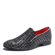 Мужская мерцающая отделка Пенни Лоафер вскользь Men's Loafers (260171610)