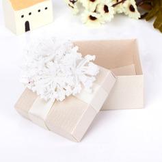 Clásico Cuboidea Cajas de regalos con Flores (Juego de 12) (050039703)