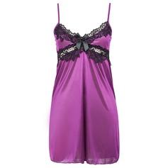 лайкра/Спандекс Простой и элегантный женственный пижама/Свадебное белье (041062973)