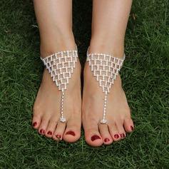 Rhinestone Alloy Foot Smykker (Selges i ett stykke) (107122430)