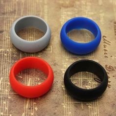 Chic Silikon Uniseks Fashion Ringen (Verkocht in één stuk) (137140052)