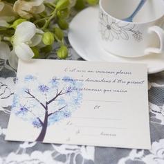 современный стиль Плоская карта Invitation Cards (набор из 50) (114063987)