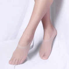Core Spun Silk No-Show Socks (107124076)