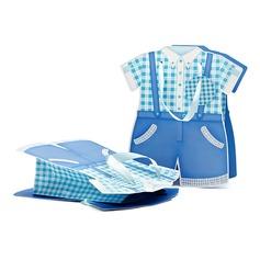 Baby kleding ontwerp Balk Bedank Tassen met Linten (050052049)