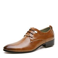 Hommes Similicuir Dentelle Chaussures habillées Travail Chaussures Oxford pour hommes (259172238)