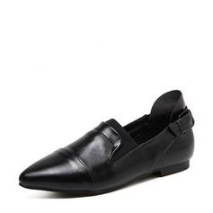 Женщины PU Плоский каблук На плокой подошве Закрытый мыс с Другие обувь (086138670)