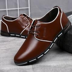 Hommes Cuir en Microfibre Dentelle Chaussures habillées Travail Chaussures Oxford pour hommes (259173768)