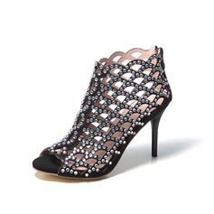 Stiletto Heel Sandalen Pumps Laarzen met Strass Hol-out schoenen (087048793)