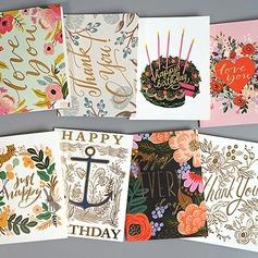 современный стиль/цветочный Стиль Боковой складкой поздравительные открытки/Спасибо карты/Поздравительные открытки (114205167)