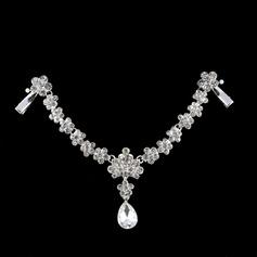 Lindo Strass/Liga A testa de jóias com Strass (Vendido em uma única peça) (042143066)