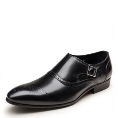 Hommes Similicuir Brogue Sangles de moine Chaussures habillées Travail Chaussures Oxford pour hommes (259172250)