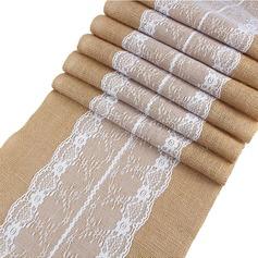 Tafelkleed Linnen (Verkocht in één stuk) Eenvoudig Tafel Middenstuk (128152267)