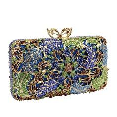 Мода Кристалл / горный хрусталь/сплав Клатчи/Роскошные сумка (012122947)