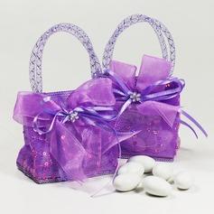 Handtas vormige Bedank Tassen met Linten (Set van 12) (050046705)
