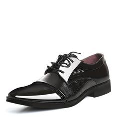 Hommes Cuir en Microfibre Dentelle Chaussures habillées Travail Chaussures Oxford pour hommes (259173767)
