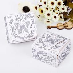 Arriba la Mariposa Cuboidea Cajas de regalos (Juego de 12) (050039695)