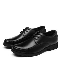 Мужская кожа Cap Toes шнуровка Платья Men's Oxfords (259173594)