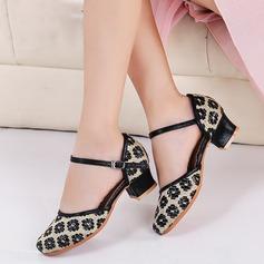 Mulheres Espumante Glitter Salão de Baile Sapatos de dança (053143407)