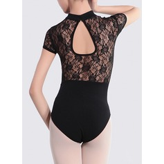 Женщины Одежда для танцев лайкра Балет Практика Балетное трико (115121761)