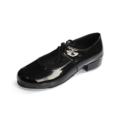 Vrouwen Kinderen Patent Leather Flats Tapdansen Ballroom Dansschoenen (053024312)