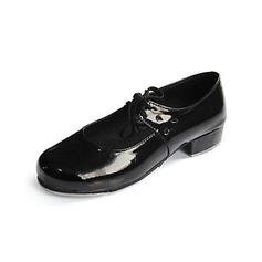 Women's Kids' Patent Leather Flats Tap Ballroom Dance Shoes (053024312)