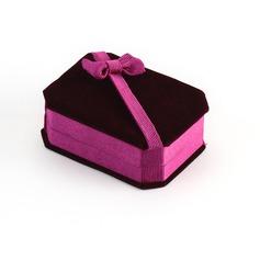 Clássico Veludo Caixa de Jóias (050041323)