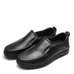 Мужская натуральня кожа U-Tip вскользь Men's Loafers (260187142)