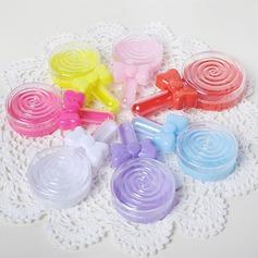 прекрасный/простой/Круглый пластиковые Коробочки (набор из 12) (050173174)