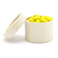 Simple Cylinder Favor Boxes (Set of 12) (050028053)