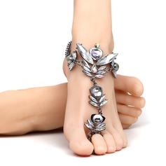 Rhinestone Alloy Foot Smykker (Selges i ett stykke) (107122446)