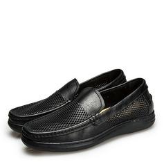 Мужская натуральня кожа U-Tip вскользь Men's Loafers (260187144)