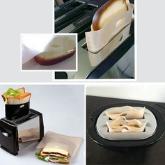 Modern Classic Non Stick Reusable Toaster Bags for Sandwich and Grilling Non-personalized Gifts (129140469)