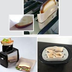 Modern Classic Non Stick uudelleenkäytettäviä leivänpaahtien laukut voileipää ja grillata Ei ole Henkilökohtaista Lahjat (129140469)
