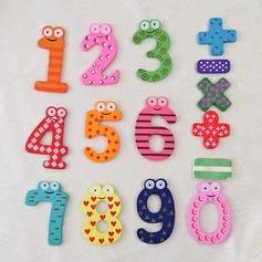 Числа & символы Деревянный магниты на холодильник (Набор из 15 штук) (051053238)
