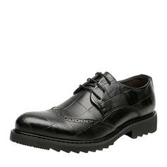 Hommes Vrai Cuir Dentelle Travail Chaussures Oxford pour hommes (259171653)