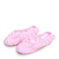 Детская обувь Холст Балет с бантом Обувь для танцев (053123205)