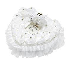 Прекрасная роза Коробка кольца в Атлас с Стразы (103052734)