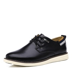 Hommes Vrai Cuir Décontractée Travail Chaussures Oxford pour hommes (259172124)
