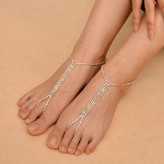 Rhinestone Alloy Foot Smykker (Selges i ett stykke) (107130778)