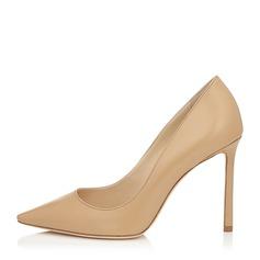 Женщины PU Высокий тонкий каблук На каблуках Закрытый мыс обувь (085153102)