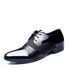 Hommes Cuir en Microfibre Dentelle Chaussures habillées Travail Chaussures Oxford pour hommes (259173763)