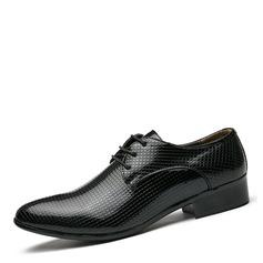 Hommes Similicuir Dentelle Chaussures habillées Travail Chaussures Oxford pour hommes (259172255)