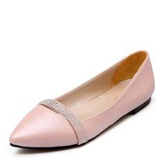 Женщины PU Плоский каблук На плокой подошве Закрытый мыс с Другие обувь (086141393)