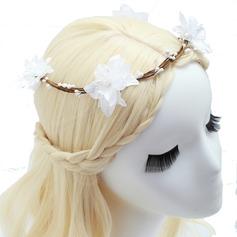 Smukke Kunstig Silke Blomster & Fjer (042054818)