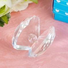 muslinger formet Crystal Keepsake med Pearl (051024189)