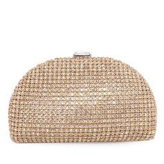 Mode Stoff mit Strass Handtaschen (012028438)