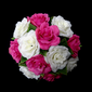 Красочный Круглый Атлас Свадебные букеты (123031484)