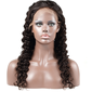 5A Virgin/remy Deep Wavy Human Hair Full Lace Cap Wigs (219139259)