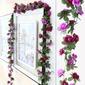 цветок винограда Привлекательный шелковые цветы Искусственные цветы (Продается в кучу) (131156864)